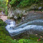 Чинарский водопад, вид сверху