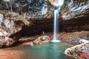 Чинарский водопад, Мезмай