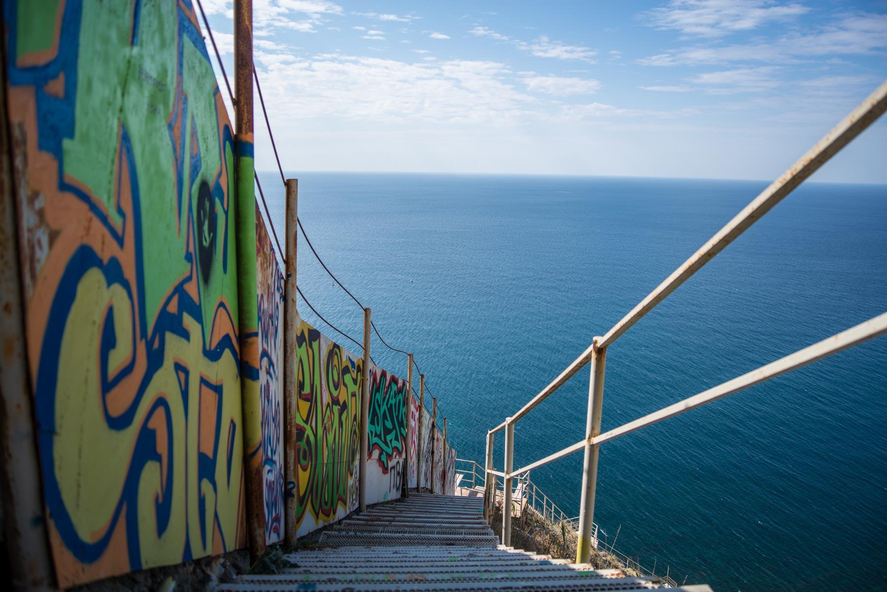 Лестница 800 ступеней Су-Псех