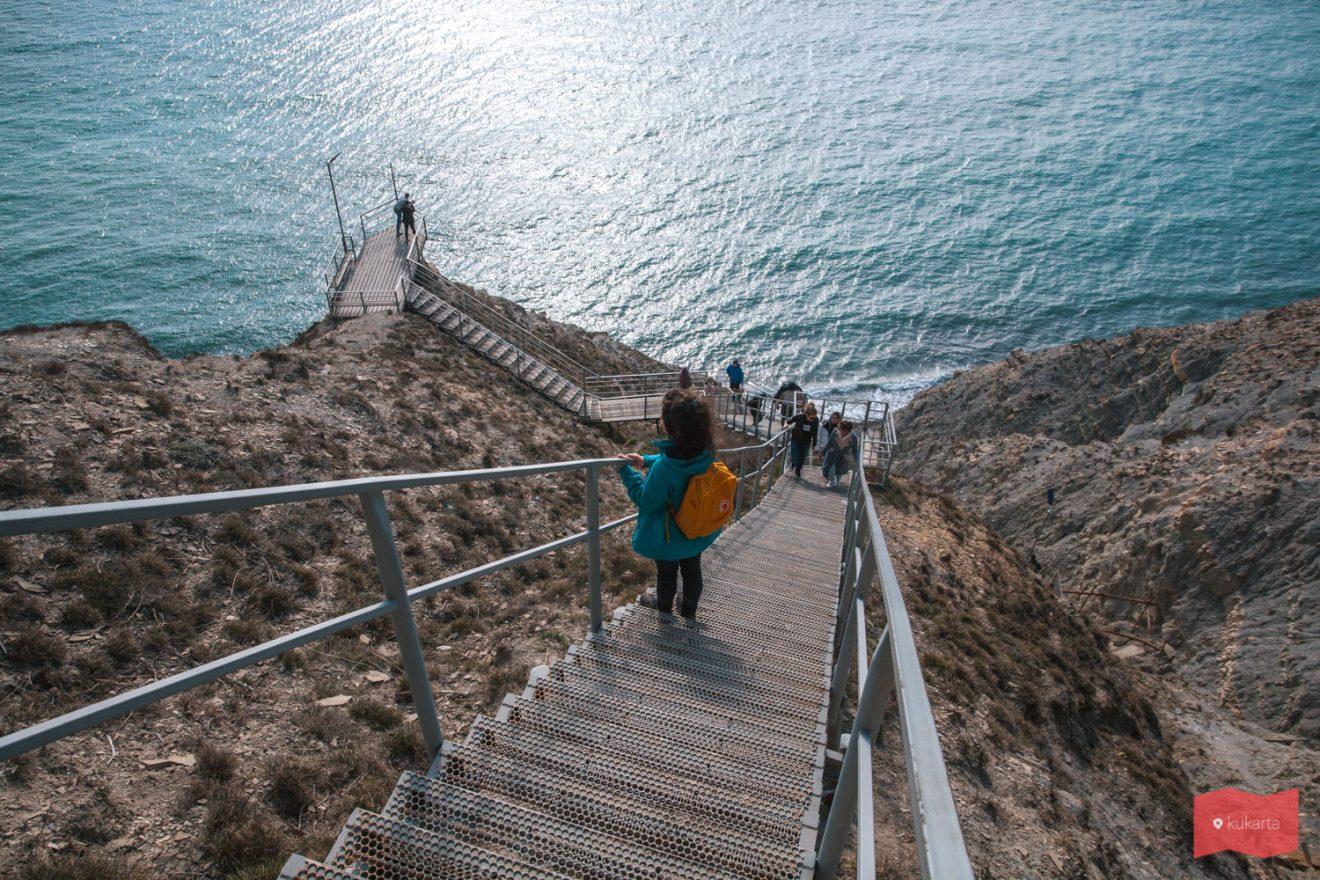 Лестница 800 ступеней, Супсех, Анапа
