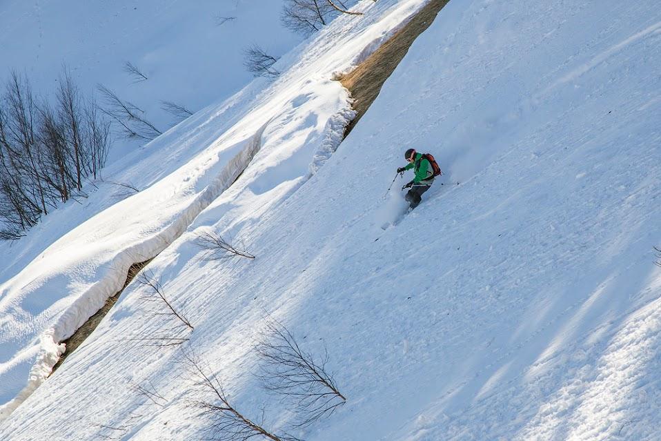 Субальпийское разнотравье - скользкая подложка для снега