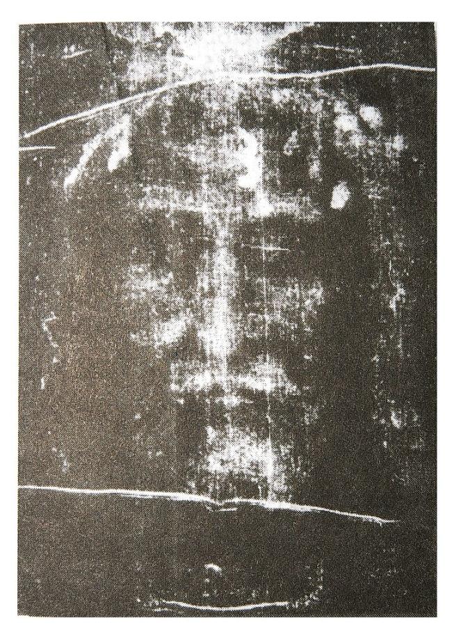 Лик Христа на Туринской плащанице