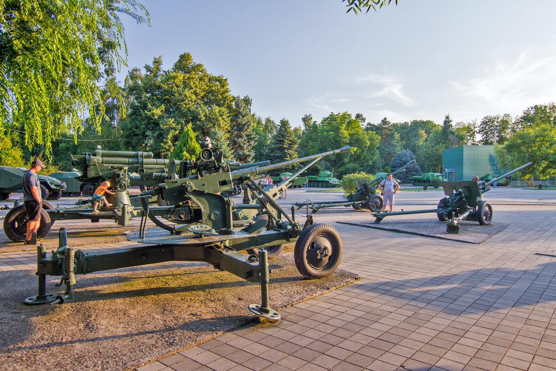 Музей военной техники, парк 30-летия Победы (Затон), Краснодар