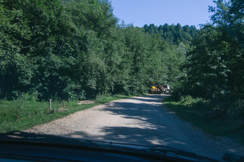 Дорога Мезмай-Темнолесская-Русский