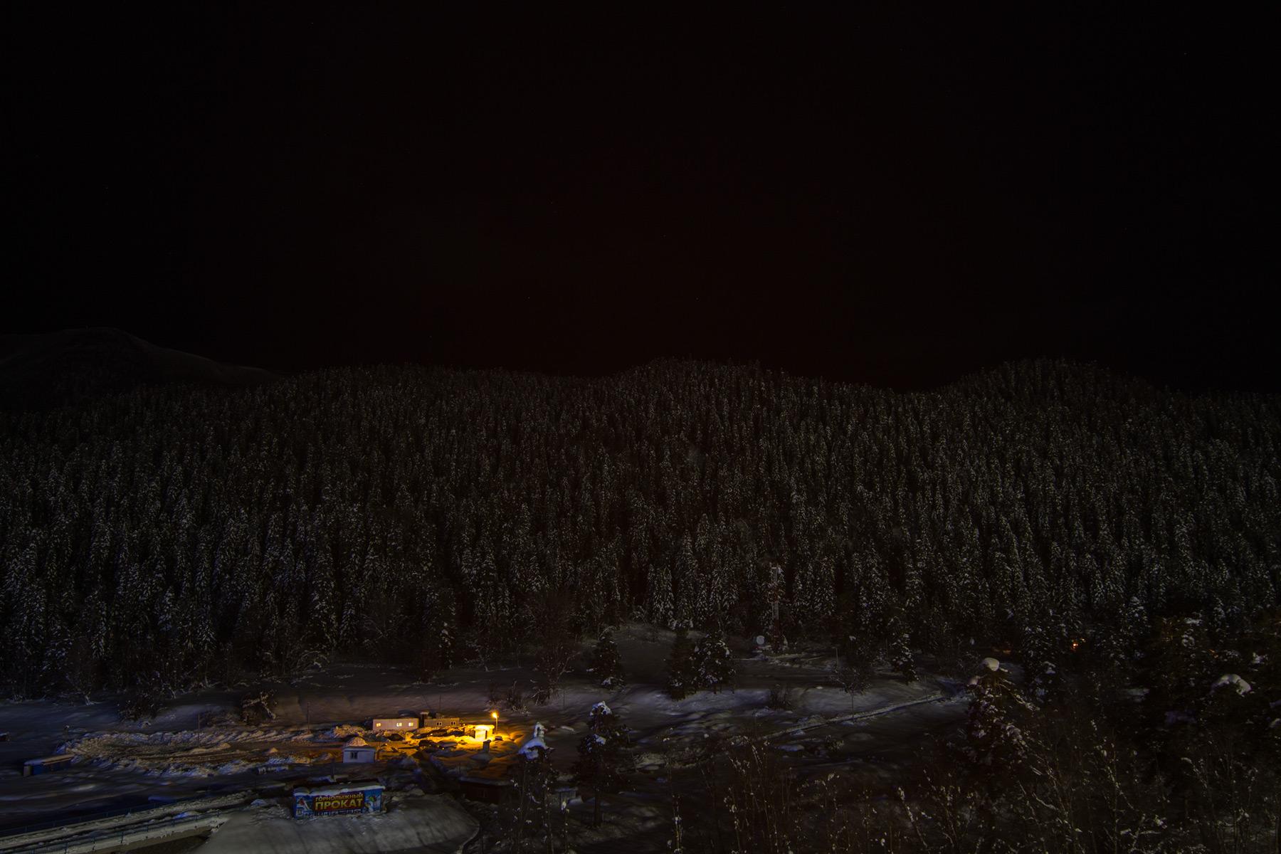 Ночной Архыз
