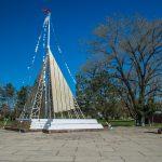 Детский парк у реки Анапка