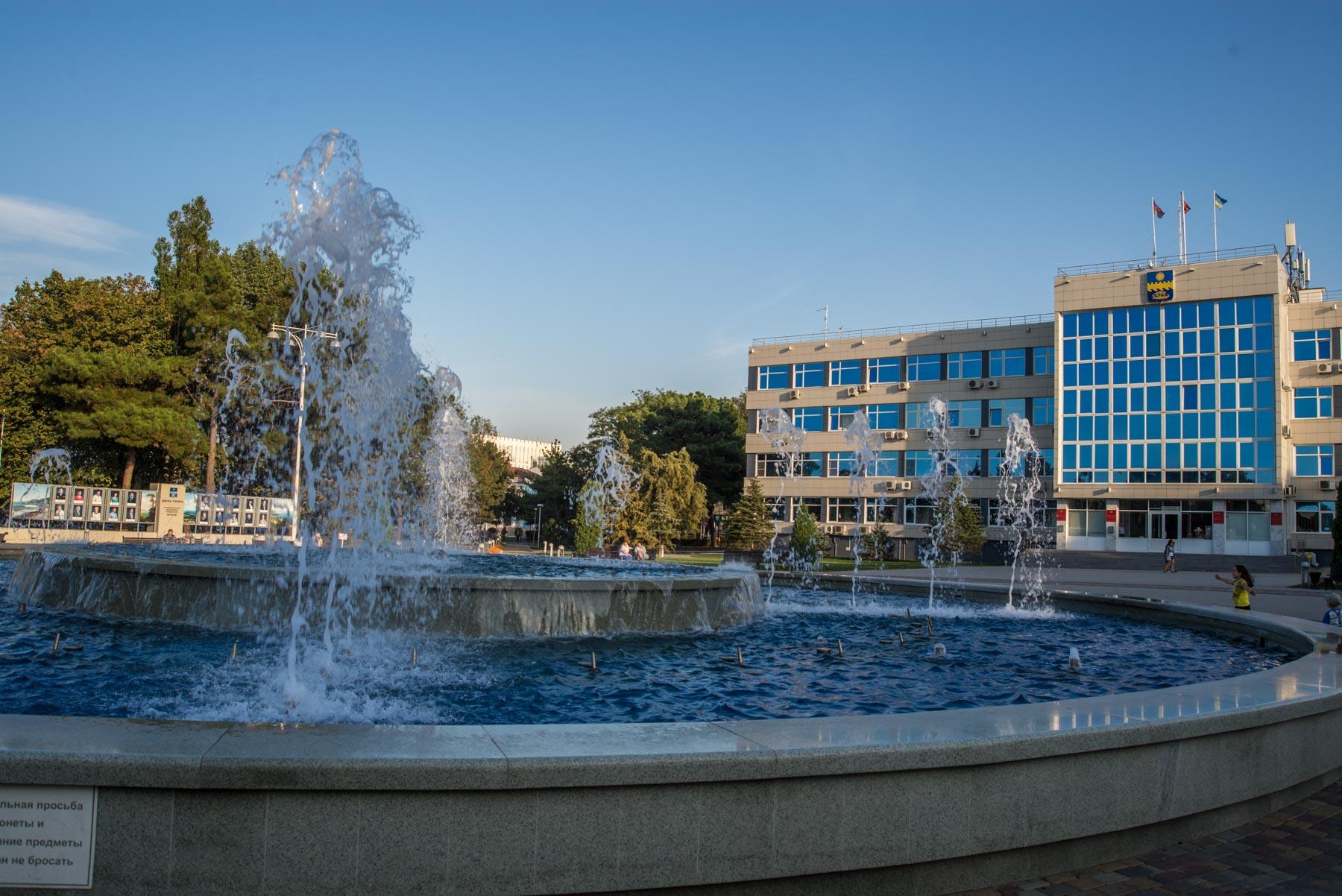 Поющий фонтан в Анапе