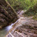 Плесецкие водопады. Водопады по Юшкиной щели