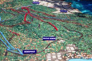 «Демонстрационная карта-схема», мемориальный комплекс «Долина смерти»