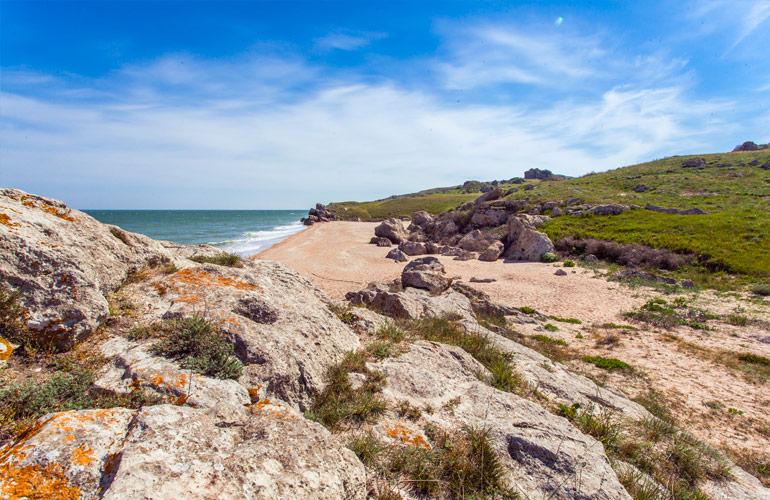 Генеральские пляжи, Крым - #15открытийКлючавто