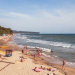 Пляж «Золотой берег», Лермонтово