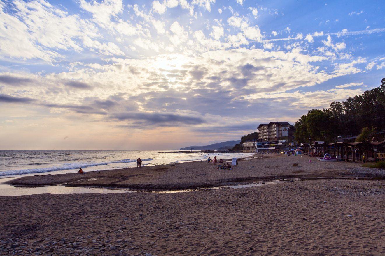 кемер пляж фото туристов