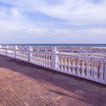 Центральный пляж Лермонтово