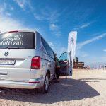 Съемка Volkswagen на Ейской косе