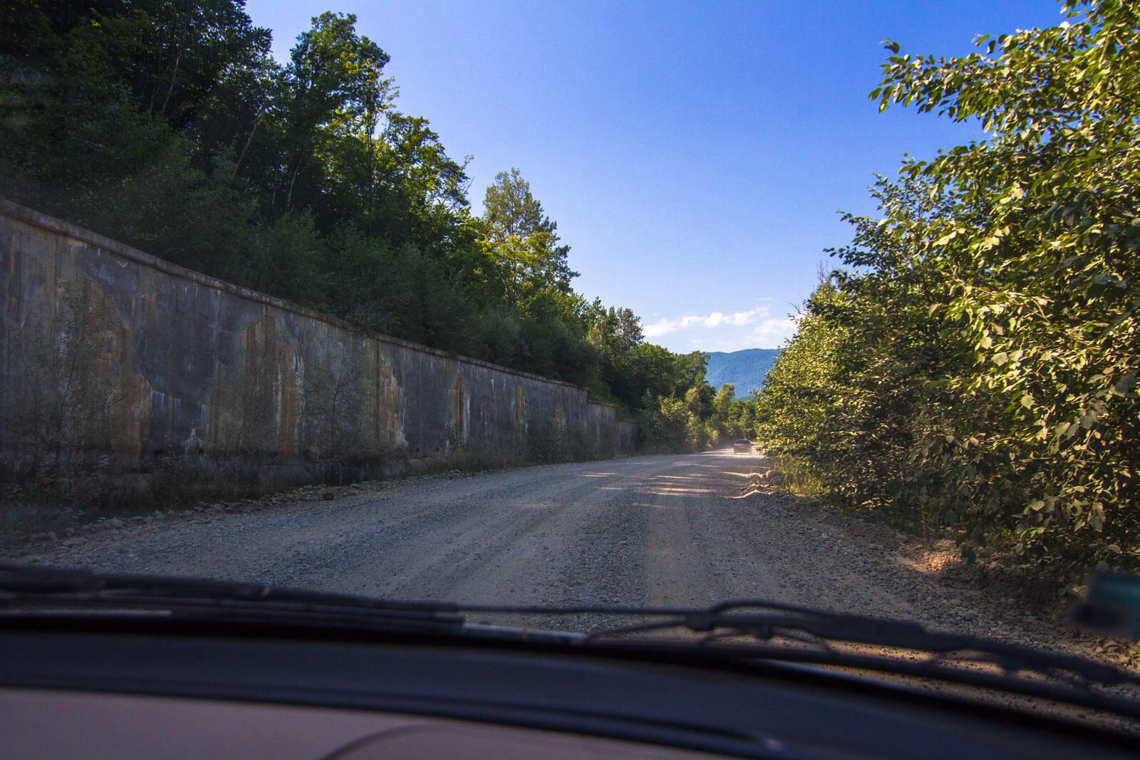 Дорога на Водопадистый