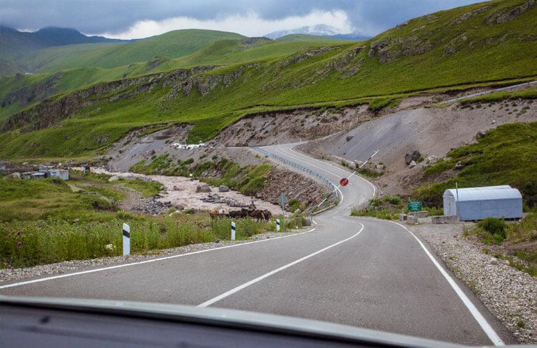 Дорога на Джилы-Су