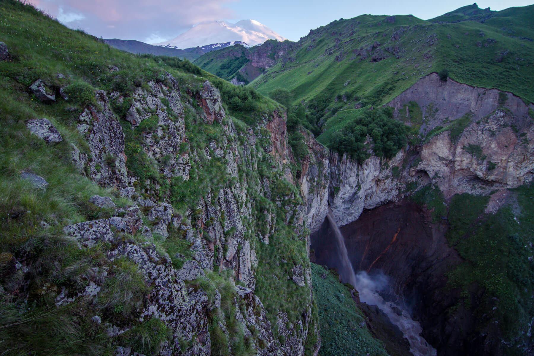 Водопад Кызыл-Су