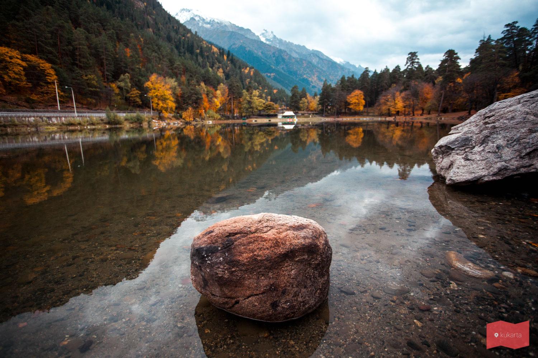 Озеро Кара-Кёль, Теберда