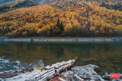 Бадукские озера, октябрь