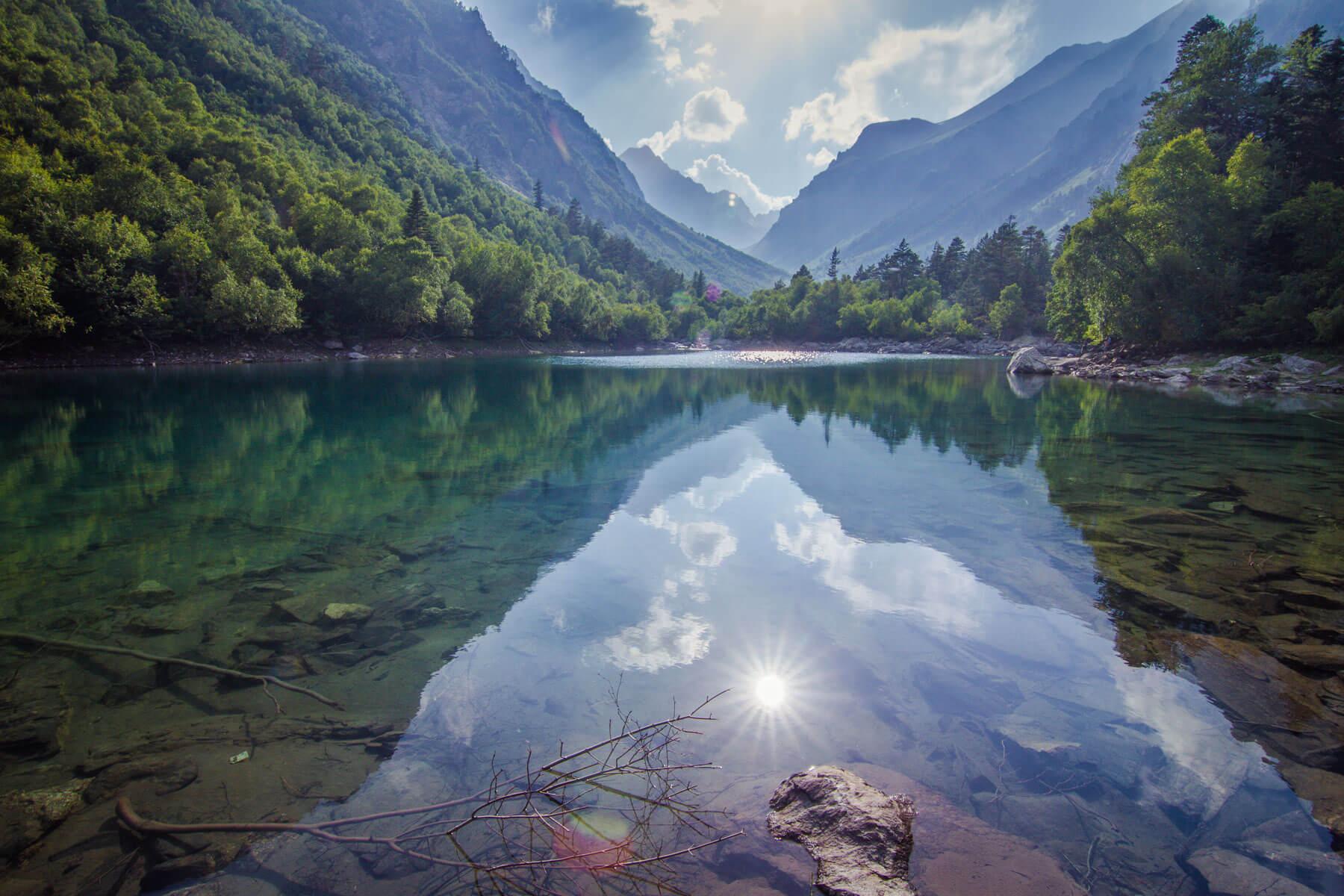 Бадукские озера, Теберда
