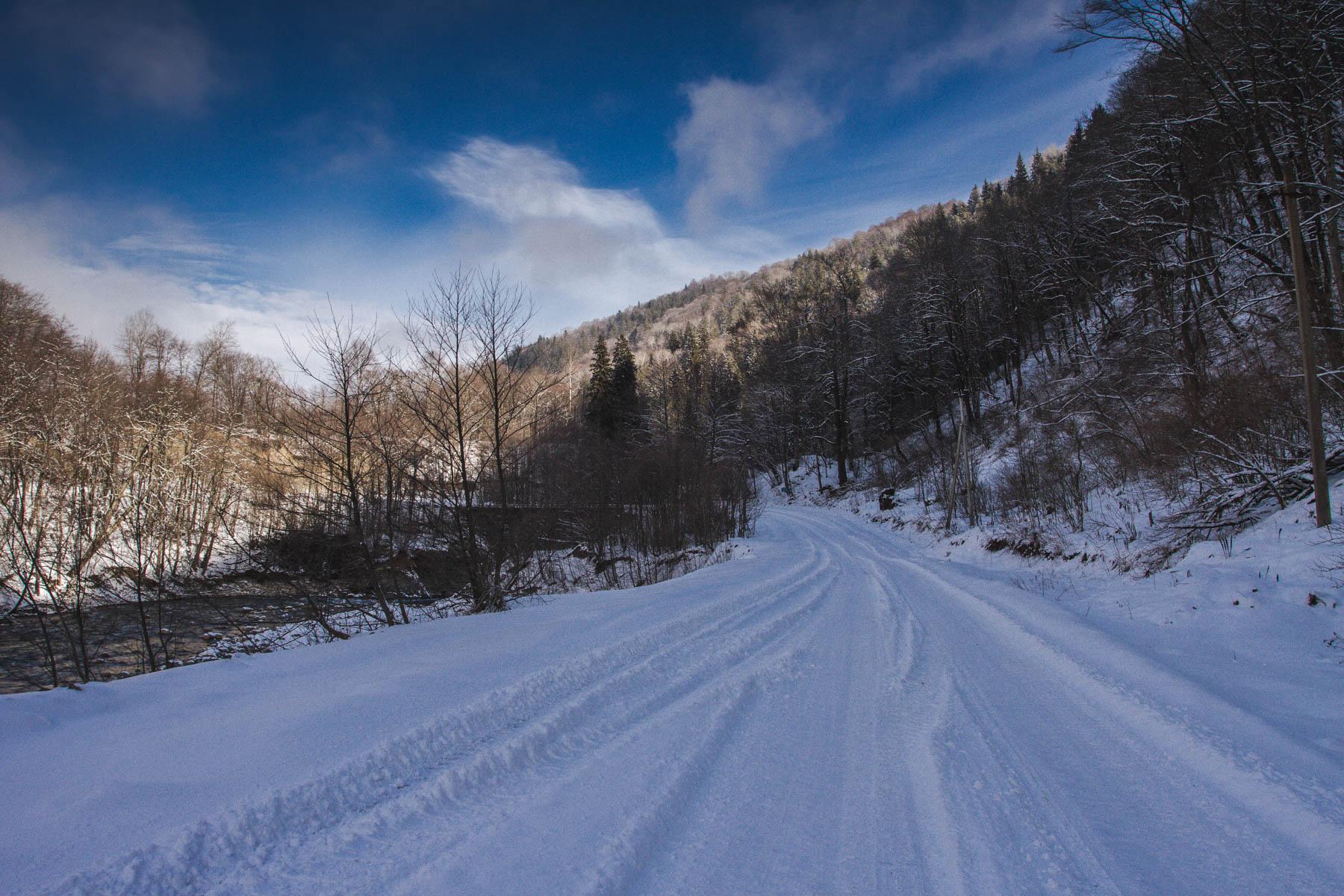 Дорога в Рожкао