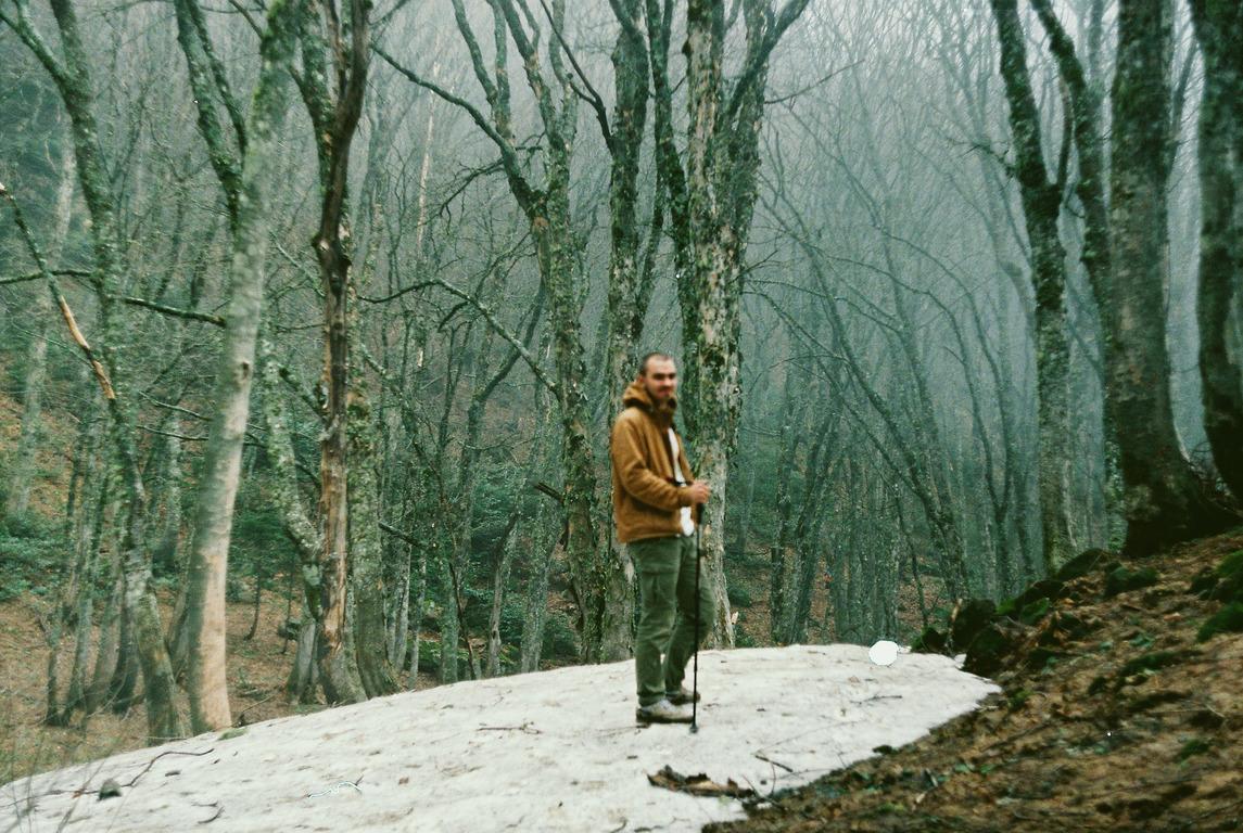 горы, снег, краснодарский край, шесси, походы