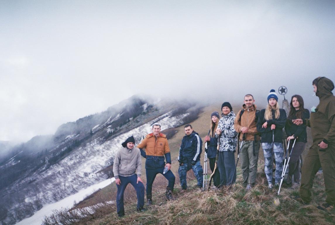 горы, шесси, краснодарский край, походы