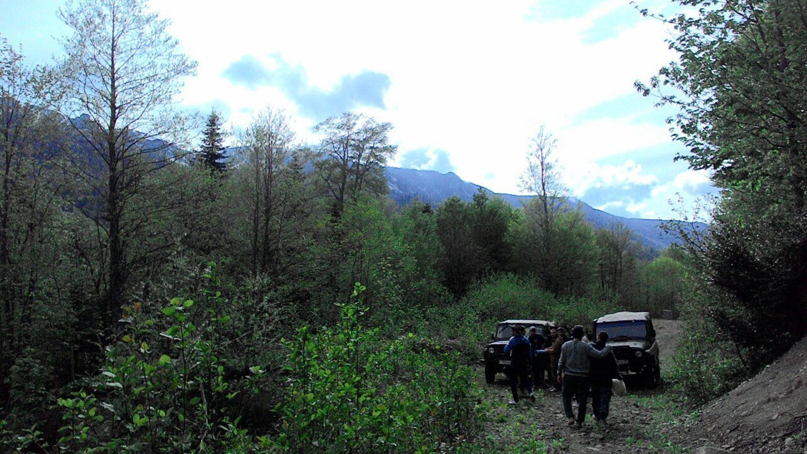горы, поход, Шесси, Семиглавая, Краснодарский край