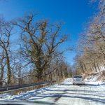 Дорога на гору Большой Ахун