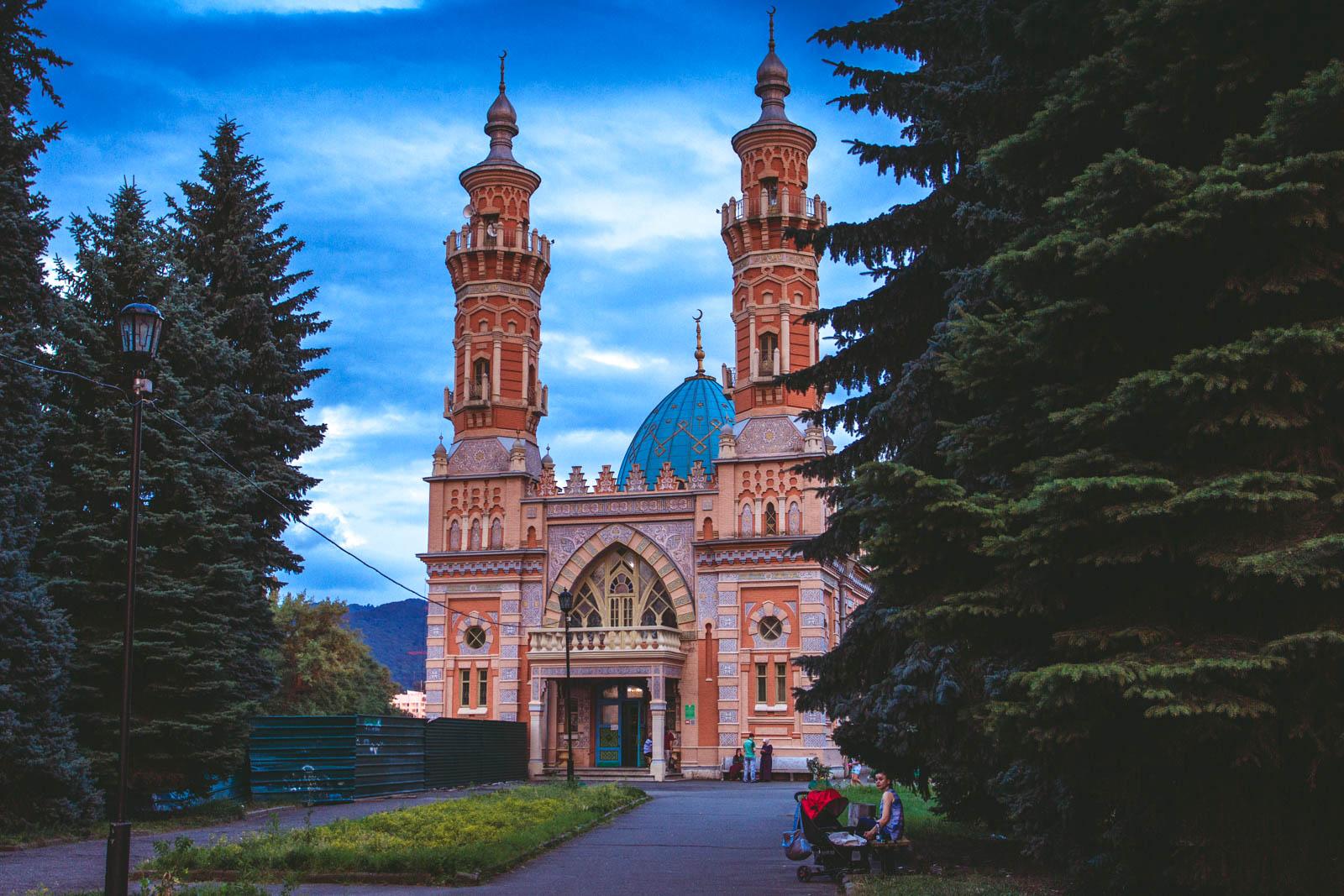 Суннитская мечеть Мухтарова, Владикавказ