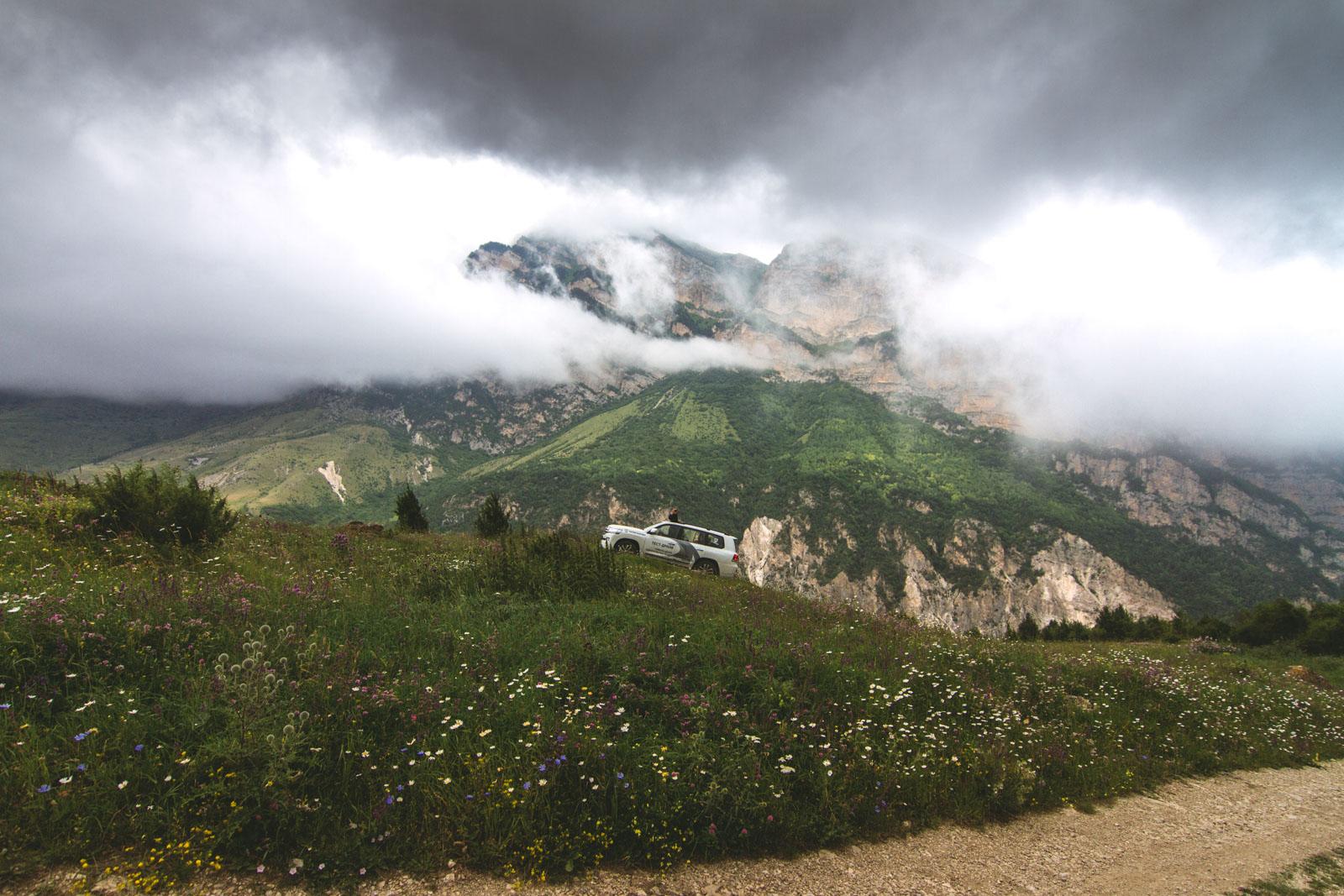 По пути в село Ханаз, Северная Осетия