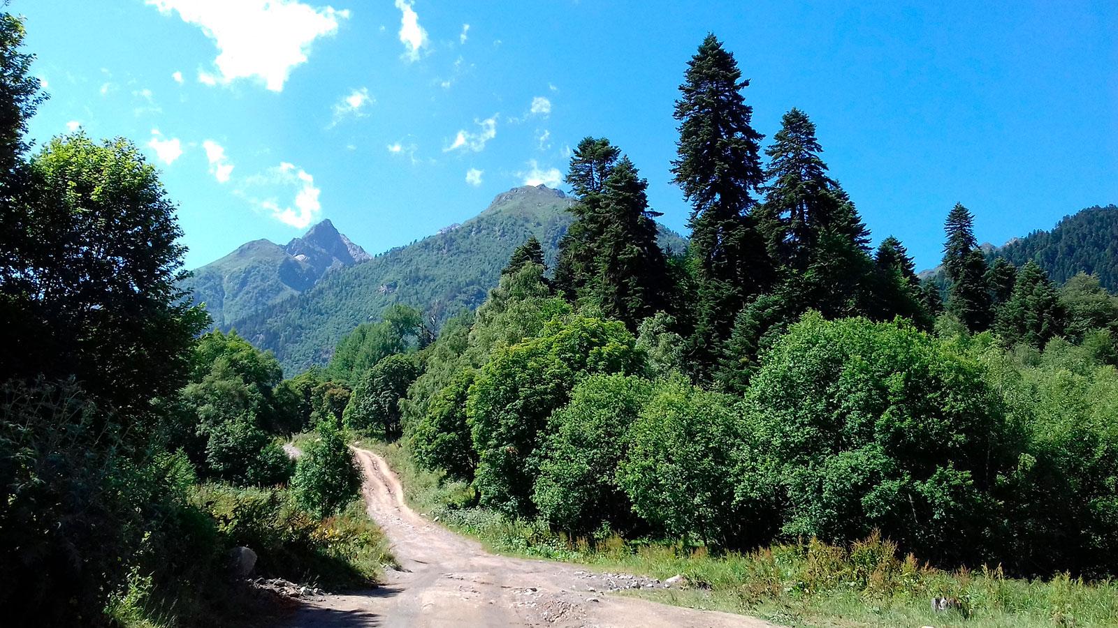 Дорога от Таулу - поход на Софийские озера
