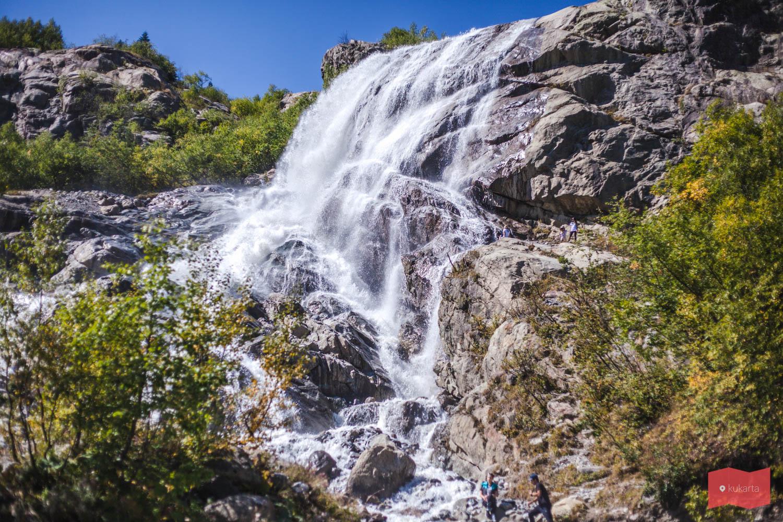 Водопад Алибек, КЧР