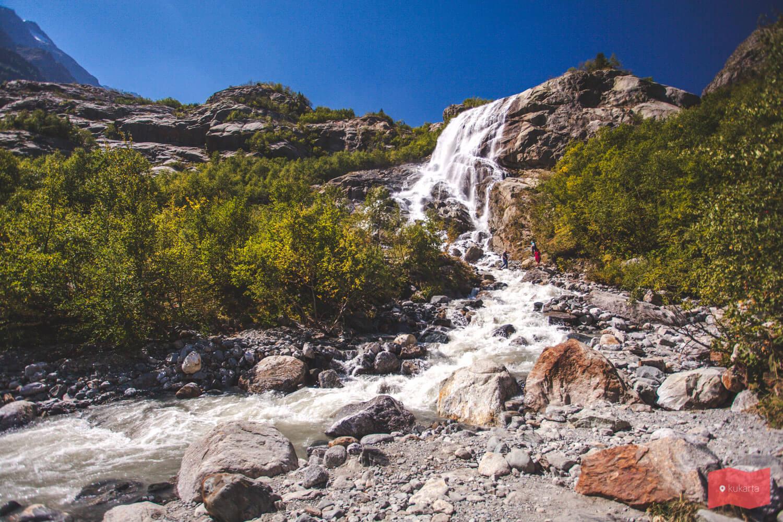 Водопад Алибек, Домбай