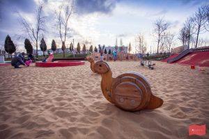 Детская площадка в парке Краснодар (парке Галицкого)
