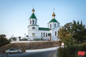 Церковь Ксении Петербургской на берегу озера Абрау, Абрау-Дюрсо