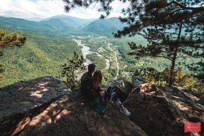 Гора Монах, Хамышки