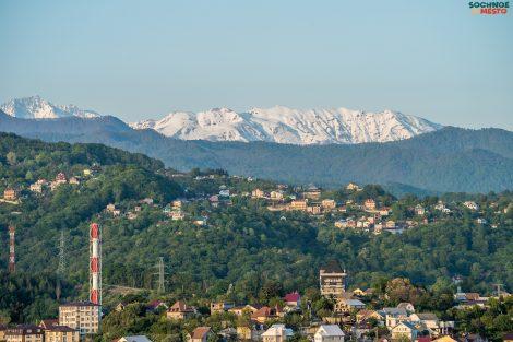 Гора Батарейка в Сочи