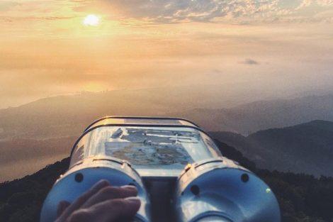 Гора Большой Ахун в Сочи