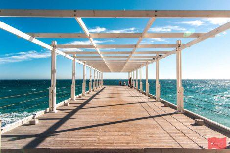 Массандровский пляж, Ялта