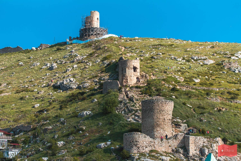 Крепость Чембало, Балаклава