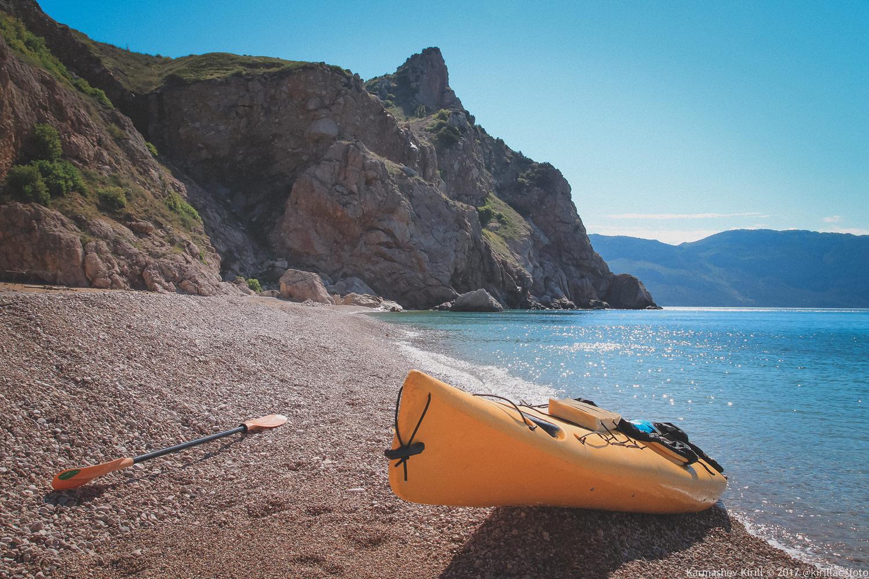 Пляж Васили, Балаклава. Автор фото Кирилл Кармашев