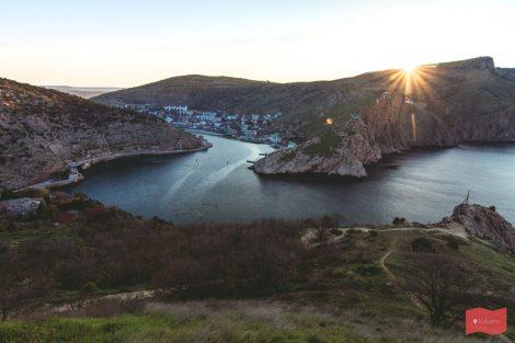 Смотровая площадка с мыса Балаклавский, Балаклава, Крым