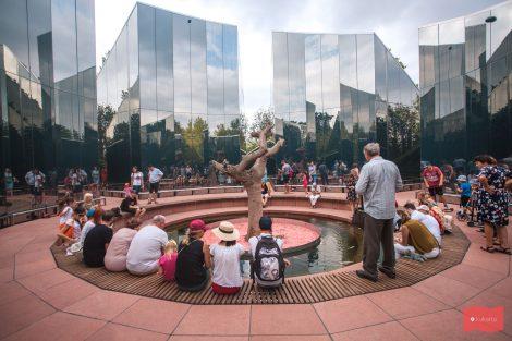 Зеркальный лабиринт в парке Краснодар