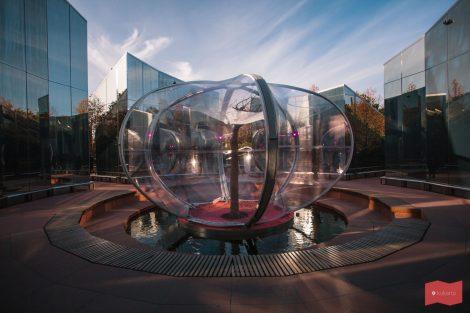 Зеркальный лабиринт в парке Краснодар (парке Галицкого)