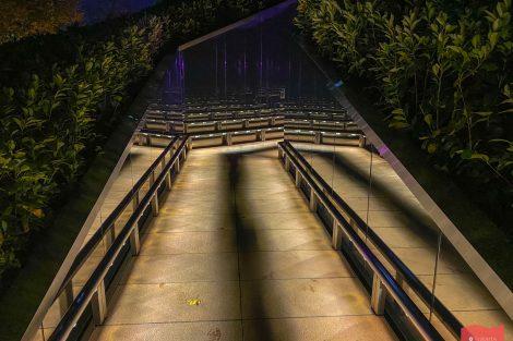 Парк Краснодар (Галицкого) в ночной подсветке