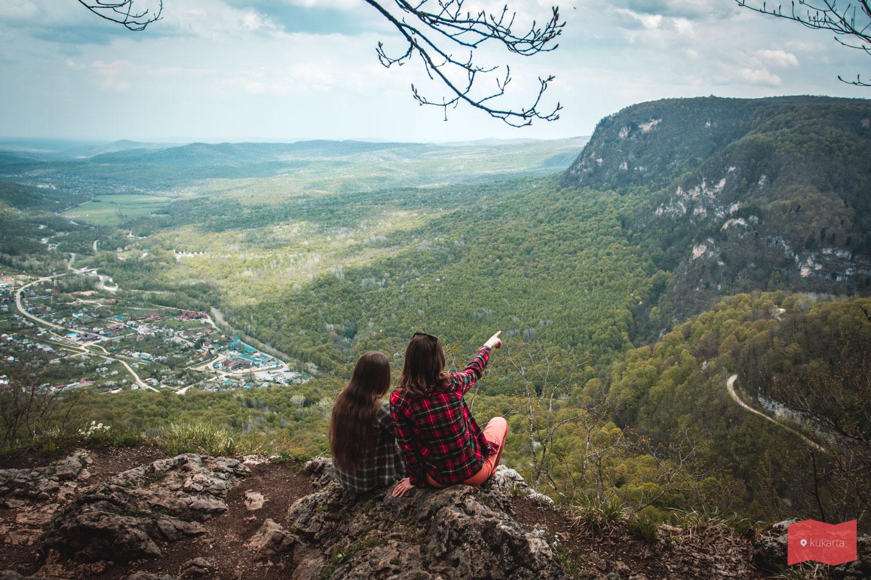 Вид на Гуамку с одной из смотровой