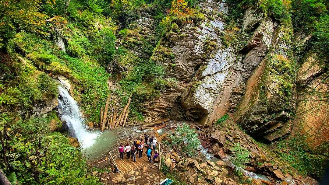 Парк водопадов Менделиха. Фото https://www.instagram.com/o0sereghka0o/