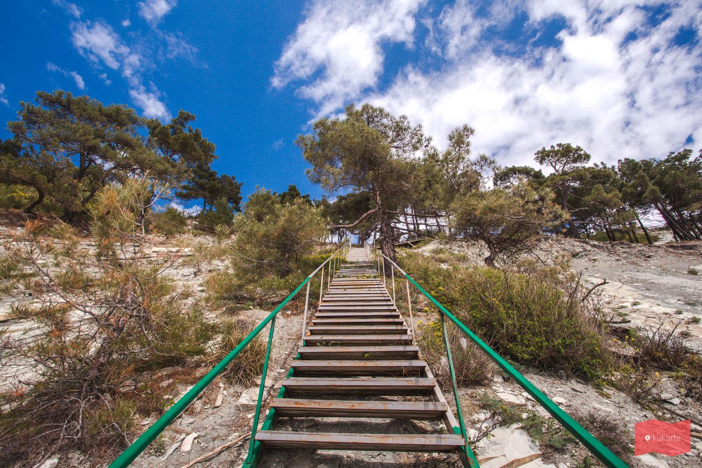 Лестница в Геленджике