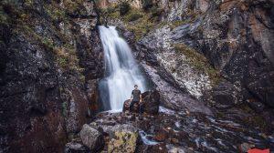 Водопад Шумка, Домбай